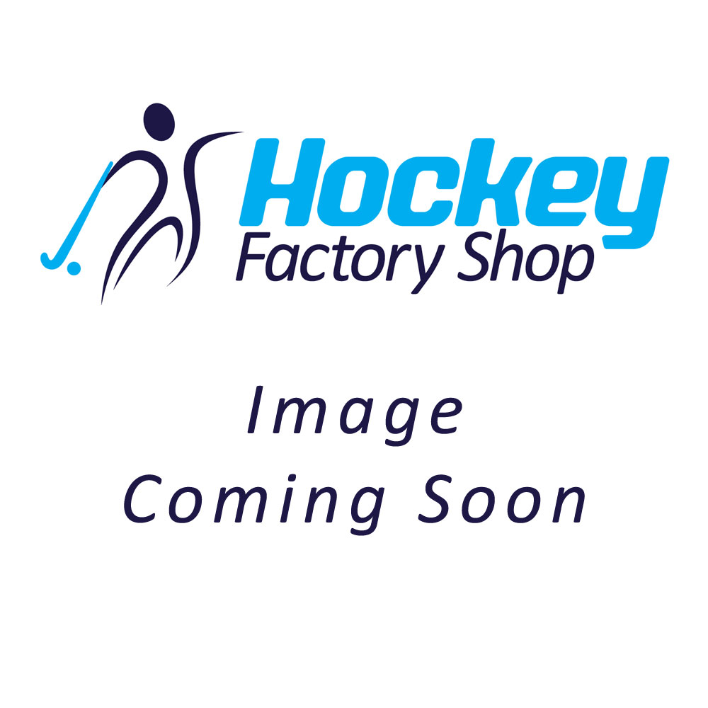 Grays Burner Rubber Junior Hockey Shoes 2019 Black/Fluo Yellow Upper