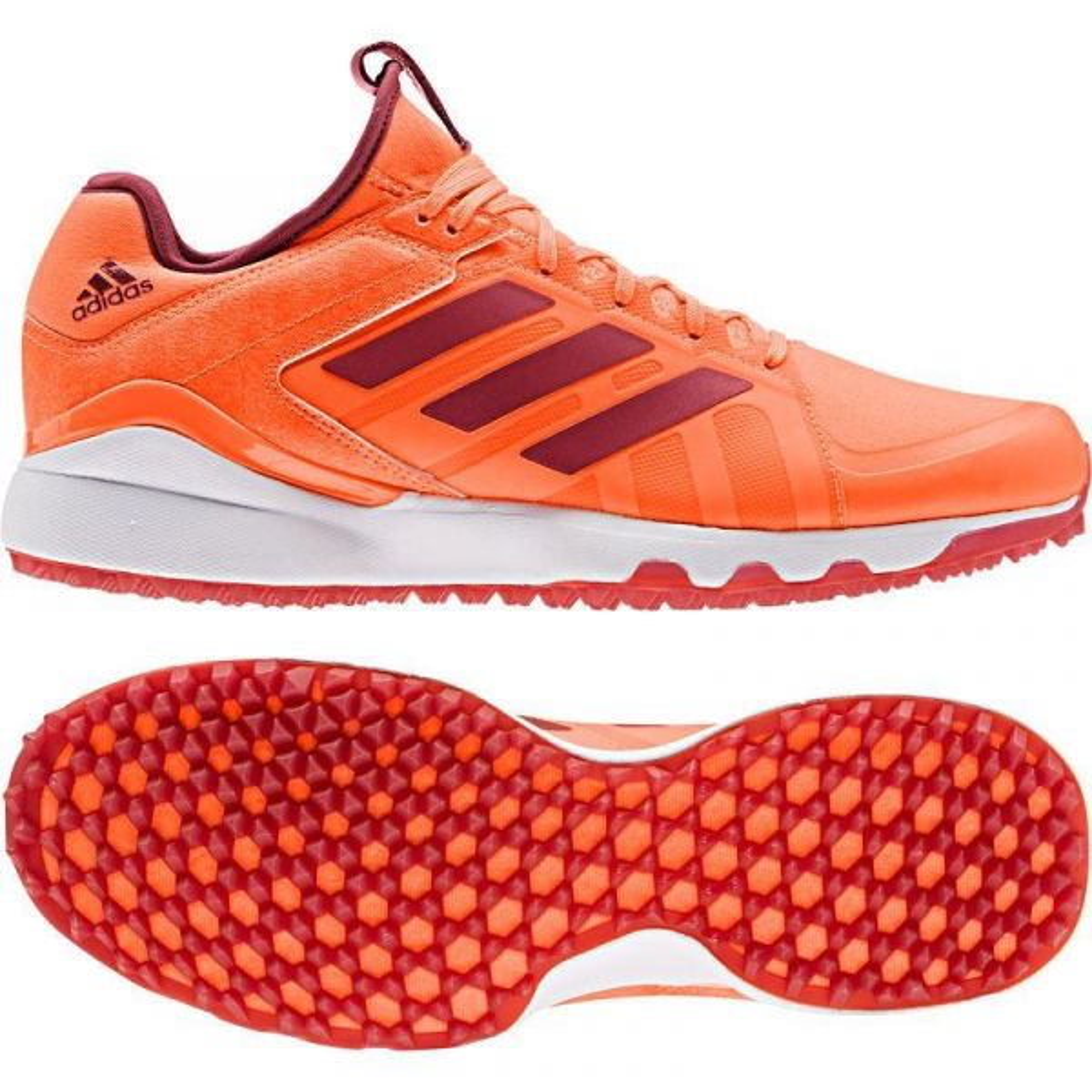 Adidas Hockey Lux Hockey Shoes 2019 Orange/Maroon