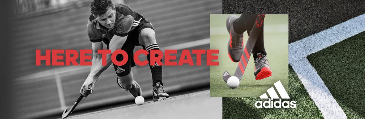 Adidas Hockey Brand Banner
